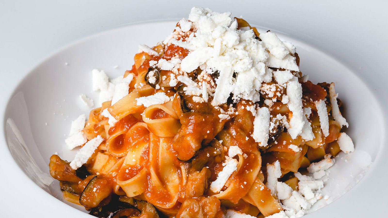 La qualità della pasta italiana take away